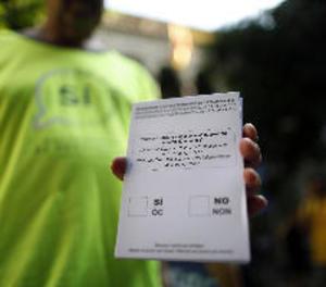 Protecció de dades adverteix de multes de fins 300.000 euros per a taules de l'1-O