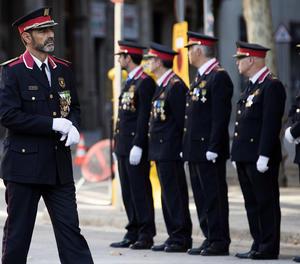 El major dels Mossos d'Esquadra, Josep Lluís Trapero.