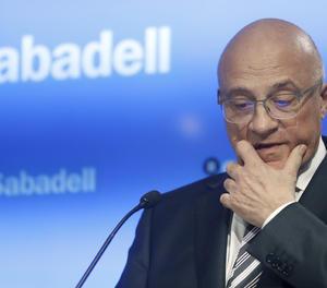 El presidente del Banco de Sabadell, Josep Oliu.