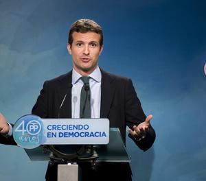 El vicesecretari del Partit Popular, Pablo Casado.