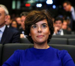 La vicepresidenta del Govern, Soaya