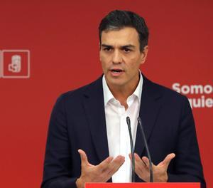 Pedro Sánchez, en roda