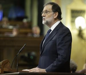 Rajoy, al Congrés dels Diputats.