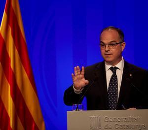 El conseller de presidència i portaveu de la Generalitat, Jordi Turull
