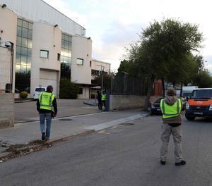 La Guàrdia Civil va comissar al setembre a instal·lacions d'Unipost material del cens del referèndum de l'1 d'octubre.