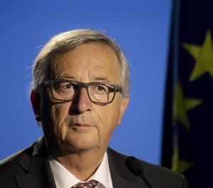 El president de la Comissió Europea (CE), Jean-Claude Juncker