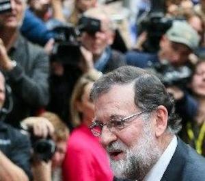 Rajoy evita fer declaracions sobre Catalunya a la seva arribada a Brussel·les