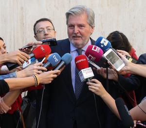 El portaveu del Govern espanyol, Íñigo Méndez de Vigo.