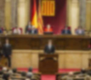 El president Puigdemont al Parlament