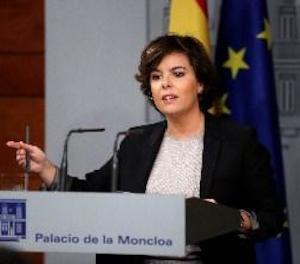 S.Santamaría: el Govern té una possibilitat, anar al Senat i fer al·legacions