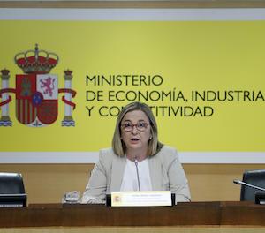 La secretària d'Estat d'Economia, Irene Garrido.