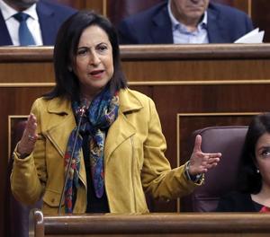 Robles, durant la intervenció a la sessió de control al Govern.
