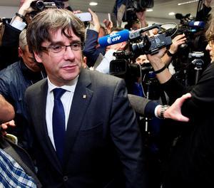 Puigdemont, a Brussel·les dimarts passat