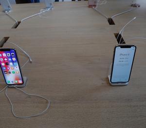 L'Iphone X.