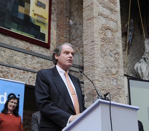 El presidente de la Fundación Princesa de Girona, Francisco Belil.