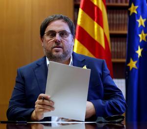 L'exvicepresident de la Generalitat Oriol Junqueras