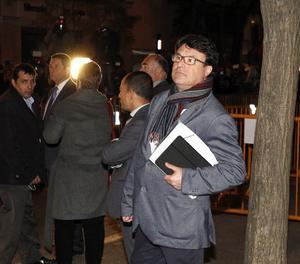 Joan Josep Nuet ahir a la nit a Madrid