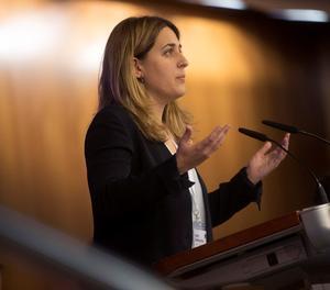 La coordinadora del PDeCAT, Marta Pascal