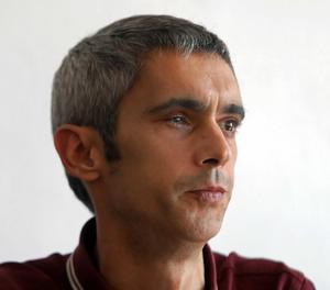 Roger Español ha comparegut davant dels mitjans a