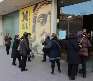 L'entrada al Museu de Lleida.