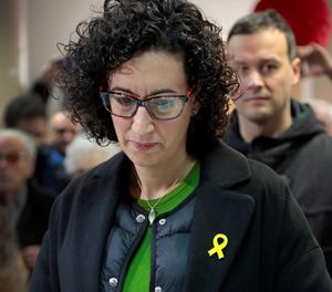 Marta Rovira, votant aquest dijous