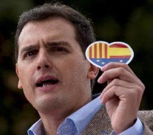 Rivera: orgullosos de la democràcia però amb l'ambició d'una Espanya unida