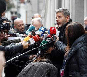 Andreu Van den Eynde, advocat d'Oriol Junqueras.