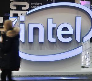 El logotip d'Intel.