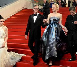 Blanchett, el maig del 2015 a Canes, a la projecció de 'Carol'.