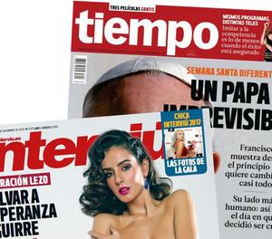 Grup Zeta deixarà de publicar 'Interviú' i 'Tiempo'
