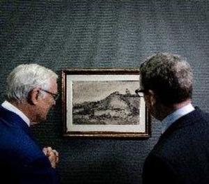 """Descobreixen """"el turó de Montmartre amb una pedrera"""", un dibuix de Van Gogh"""