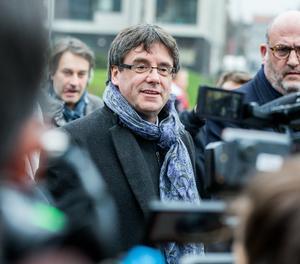 El president de la Generalitat cessat Carles Puigdemont.
