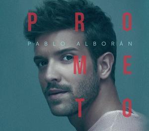 Caràtula del disc 'Prometo' de Pablo Alborán.