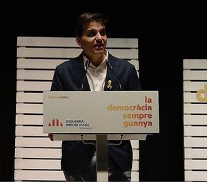 El portaveu d'ERC, Sergi Sabrià