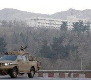 Més de 40 ferits després d'una explosió en el centre de Kabul