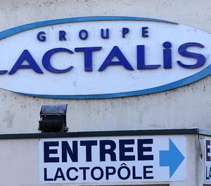 El logotip de Lactalis