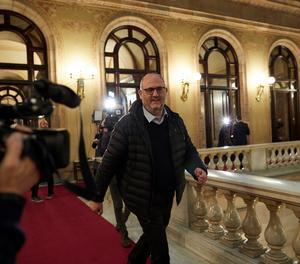 El portaveu adjunt de Junts per Catalunya (JxCat) al Parlament, Eduard Pujol.