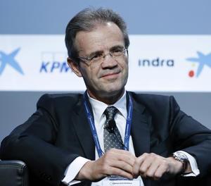 El presidente de CaixaBank, Jordi Gual.
