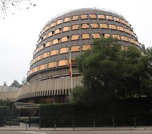 La façana del Tribunal Constitucional