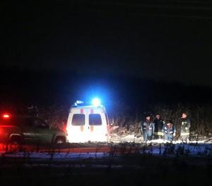 L'avió es va estavellar als afores de la capital russa al cap de pocs minuts d'enlairar-se.