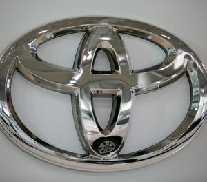 El logotip de Toyota