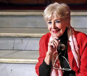 La veterana actriu val·lisoletana Concha Velasco, de 78 anys.