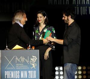 El duo Maria Arnal i Marcel Bagés, guardonats als Premis de la Música Independent.