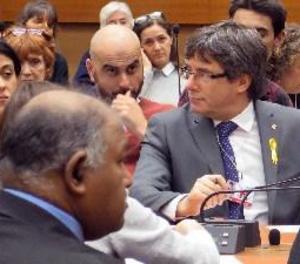 Puigdemont i Gabriel assisteixen a l'ONU a un acte sobre Drets Humans a Catalunya