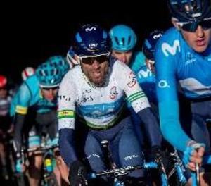 Valverde segueix líder després d'una etapa amb final a Torrefarrera