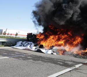 Cremen pneumàtics a l'A-2