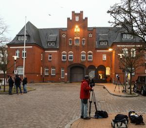 La presó de Neumünster, al sud de Kiel, on va ingressar Puigdemont.