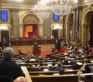 El Parlament reconeix el dret de Puigdemont, Sànchez i Turull a ser investits