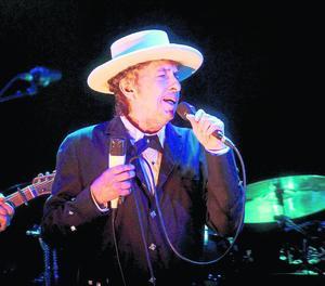 Imatge d'arxiu d'un dels concerts de Bob Dylan.