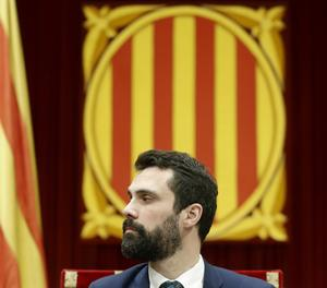 El president del Parlament, Roger Torrent.